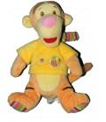 Doudou Peluche TIGROU Pull jaune Abeille Disney Baby Nicotoy Grelot 22 cm