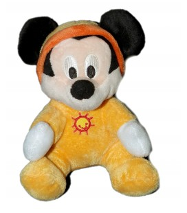 Peluche doudou MICKEY Disney Nicotoy Simba - 15 cm 587/9720