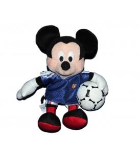 Peluche doudou MICKEY Footballer Disney Nicotoy Simba - 21 cm