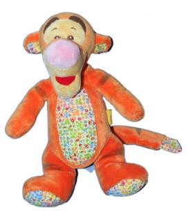 Doudou Peluche TIGROU - Fleurs Abeilles - Disney Baby Nicotoy - H 24 cm 587/0065