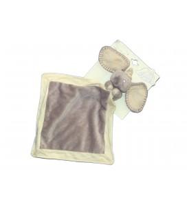 Doudou Elephant Gris DUMBO avec grand Mouchoir Couverture Disney NICOTOY