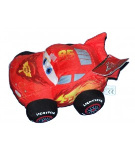 Peluche Doudou Voiture Flash Mc Queen CARS Disney Pixar - 20 cm - Simba Dickie