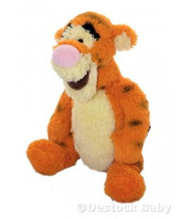 Doudou peluche TIGROU 32 cm debout Longs Poils Authentique Disneyland Resort Paris