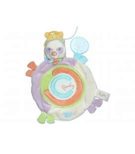 Doudou plat PANDA Pandy - BABY NAT Babynat - BN889