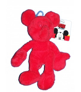 Doudou Peluche Mickey & Friends rouge - NICOTOY Simba - 587/9229