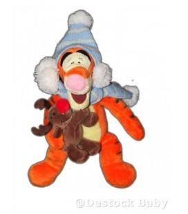 COLLECTOR - Doudou peluche TIGROU et bébé Renne Elan Cerf - 22 cm - Authentique Disney Store
