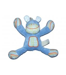 Doudou poney cheval bleu - TAPE A L'OEIL - 20 cm