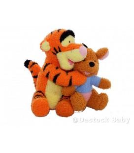 Doudou peluche TIGROU et Roo le Kangourou 20 cm Disney Fisher Price