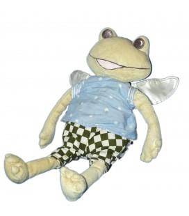 Doudou peluche GRENOUILLE avec ailes - IKEA Plush - H 30 cm