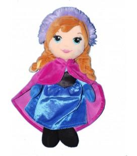 Doudou peluche Anna Reine des Neiges Disney