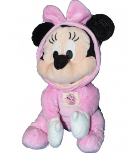 Doudou peluche MINNIE - Pyjama rose - Disney Simba - 34 cm - 587/1822