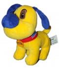 Doudou Peluche chien jaune Pitou BANANIA 18 cm Sandy
