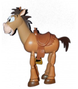 Figurine articulée - Jouet - Cheval TOY STORY Pile-Poil Bullseye H 30 cm