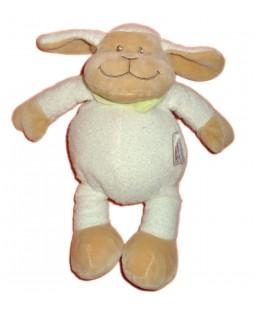 Doudou Mouton agneau blanc beige - BENGY Amtoys 2008 - H 25 cm