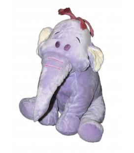Doudou peluche LUMPY Efelant Elephant mauve Disney Nicotoy H 30 cm 587/3441 - 7568