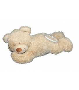 Doudou peluche Musicale OURS Beige - TEX Baby Carrefour - L 25 cm