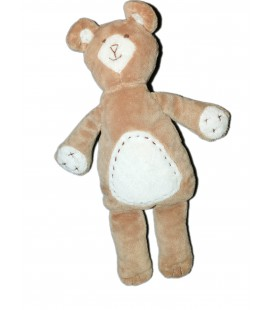 Peluche Doudou OURS beige H 32 cm - PBK - Pottery Barn Kids