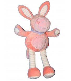 Doudou Peluche Ane cheval rose - TEX - Carrefour H 35 cm