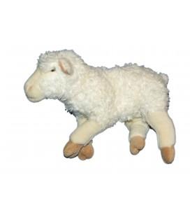Doudou Peluche Mouton agneau blanc - Playkids CMI 26X34 CM