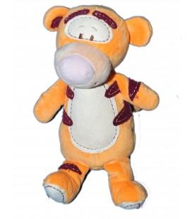 Doudou Peluche TIGROU orange bordeaux - Disney Nicotoy H 28 cm - 587/0968