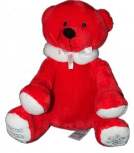 Nocibé peluche doudou ours rouge 2013 26 cm