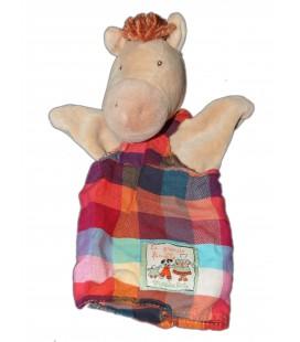 Doudou Marionnette Cheval La Grande Famille MOULIN ROTY 7836