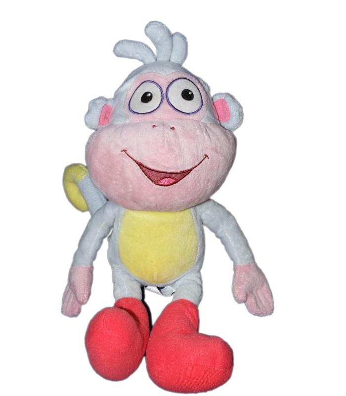 Peluche doudou singe babouche dora l 39 exploratrice 38 cm viacom - Singe de dora ...