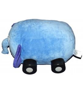 Peluche Elephant bleu Voiture Disney Store Sur la Route de la Jungle