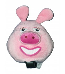 Peluche Cochon rose Voiture Disney Store Sur la Route de la Jungle