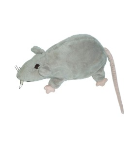 Peluche Doudou Rat Souris grise - Gosig Ratta - IKEA - L 22 cm
