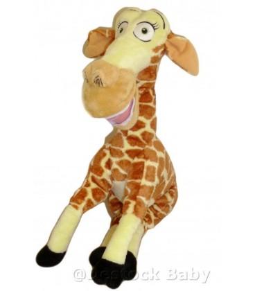 Doudou peluche girafe Melman Madagascar 3 GIPSY 26 cm