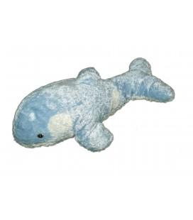 Peluche doudou Orque Dauphin Bleu Marineland Dolphin Plush - L 38 cm 7965