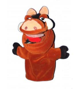 Peluche Doudou Marionnette PUMBAA Le Roi Lion Disney H 25 cm