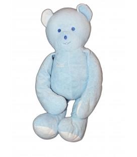 Grand Doudou OURS bleu MUSTI de Mustela - H 65 cm