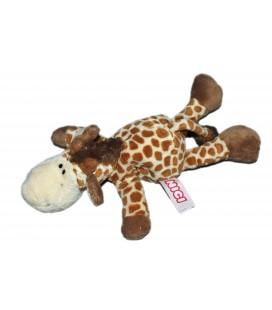 Peluche doudou girafe marron beige NICI 18 cm
