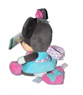 Doudou peluche Musicale Minnie - Disney Baby Nicotoy 20 cm Coeur Papillon