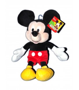 Doudou Peluche Mickey Core Mouse Disney Club House - H 35 cm