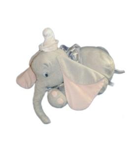 Peluche DUMBO L'ELEPHANT VOLANT Disney Store L 38 cm Colerette