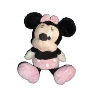 Peluche doudou MINNIE Robe rose pois Disney Nicotoy H 35 cm 587/1590
