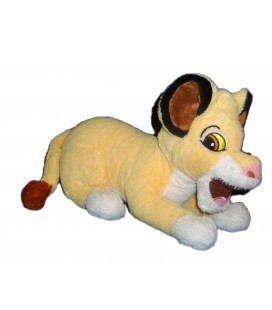 Doudou peluche Simba LE ROI LION - Disney - L 30 cm