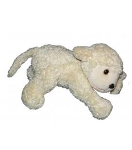 Doudou Peluche Mouton agneau blanc Nounours L 22 cm