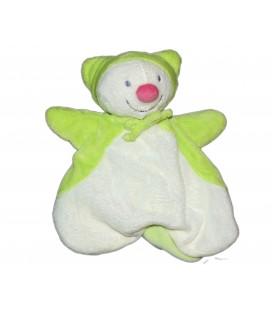 Doudou LUTIN Papillon blanc Vert Marionnette - KIABI Avda Q7861 8212