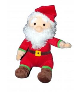 Doudou peluche Père Noël - 3 S - Creaprim' - 20 cm