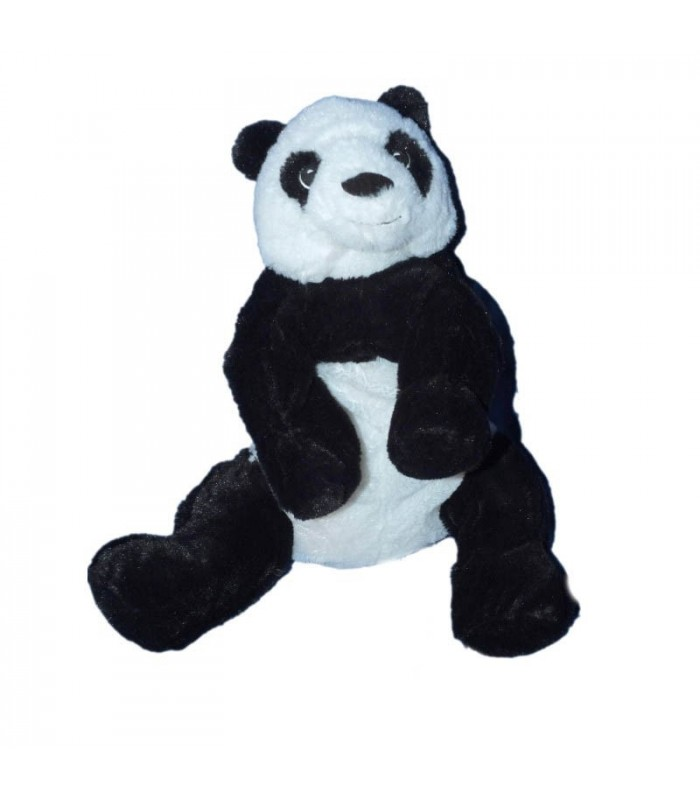 peluche panda blanc noir ikea kramig plush 30 cm. Black Bedroom Furniture Sets. Home Design Ideas