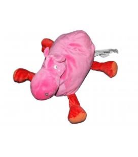 Doudou peluche HIPPOPOTAME rose IKEA - Barnslig Flodhast - L 32 cm