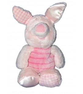 Doudou peluche Porcinet rose Vichy Disney Nicotoy 24 cm 587/9889