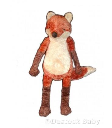 Peluche doudou Renard roux marron IKEA - Kappar Rav - 48 cm