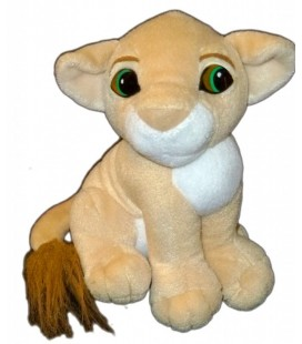 Doudou peluche Nala LE ROI LION Authentic Lion King Disney Classic Mattel 1993 20 cm