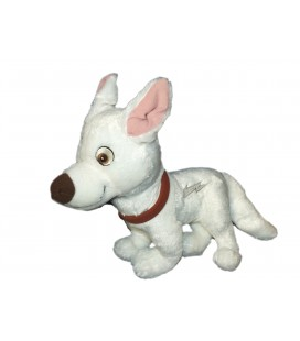 Doudou peluche VOLT Chien Authentique Disneyland Paris H 38 cm x L 32 cm