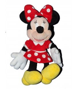 Peluche doudou MINNIE Rouge Disney H 32 cm